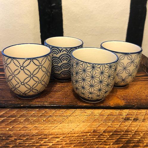 Sashiko Pattern Cups