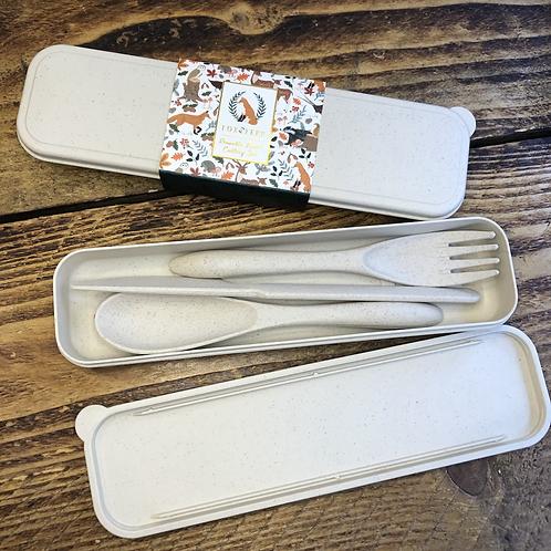 Reusable Cutlery in Case