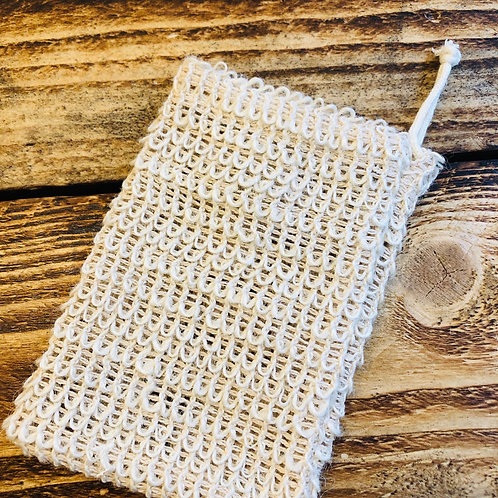 Cosy Cottage Sisal Soap Bag