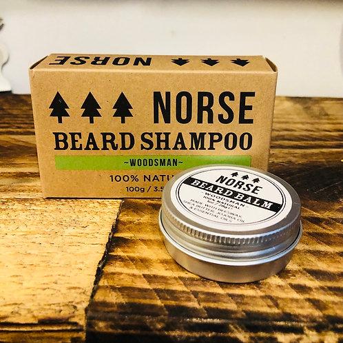 Norse Beard Shampoo & Beard Balm Gift Bundle