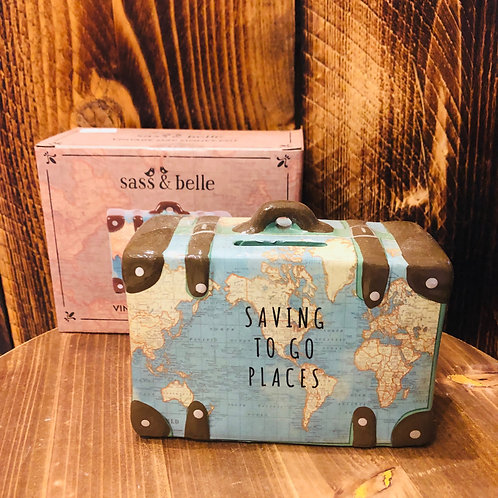 Saving to Go Places Money Box