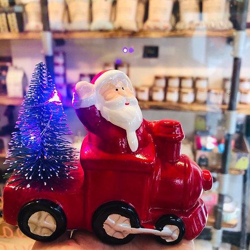 LED Ceramic Santa & Train