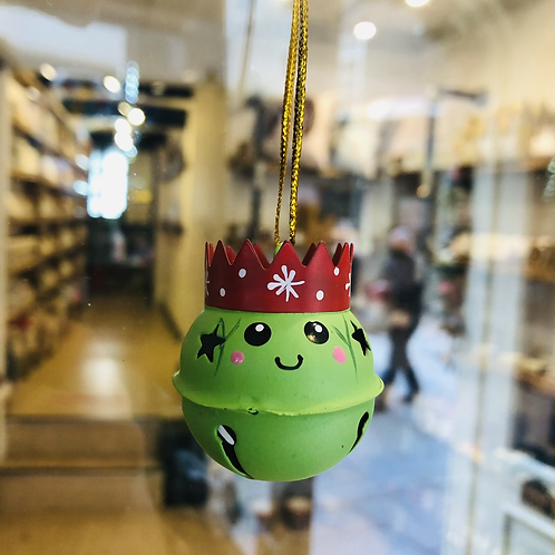Brussel Sprout Hanging Bell Decoration