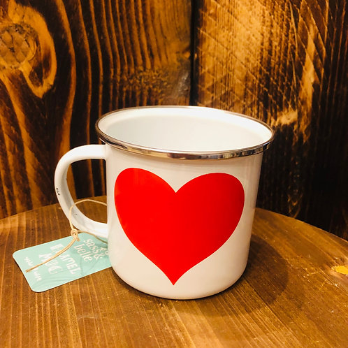 Sweetheart Enamel Mug