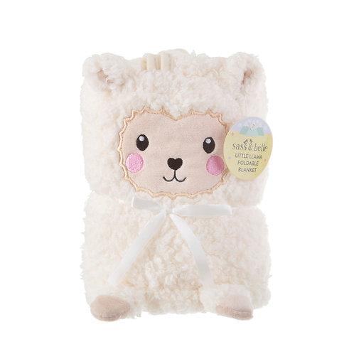 Little Llama Soft Fleece Baby Blanket