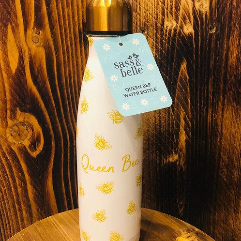 Queen Bee Stainless Steel Water Bottle