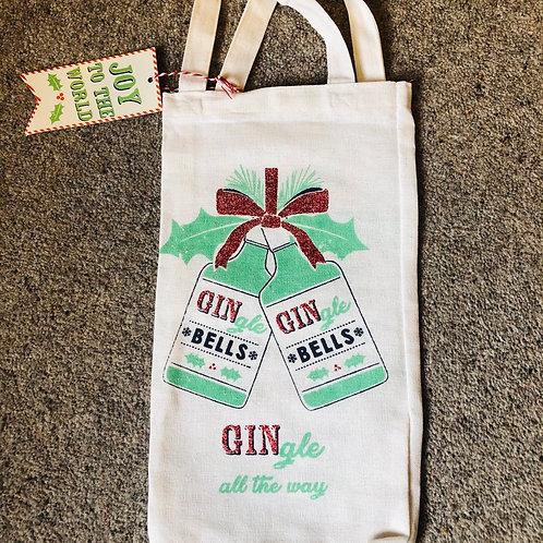 Christmas Gin Gift Bag