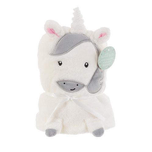 Unicorn Soft Fleece Baby Blanket