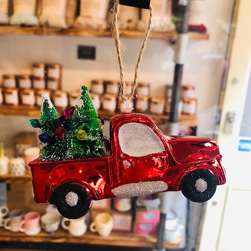 Red Truck Decoration