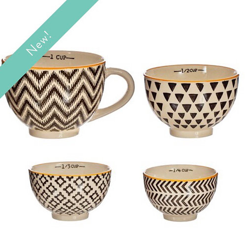Geometric Measuring Bowls