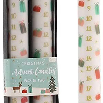 Advent Candles Pack of 2