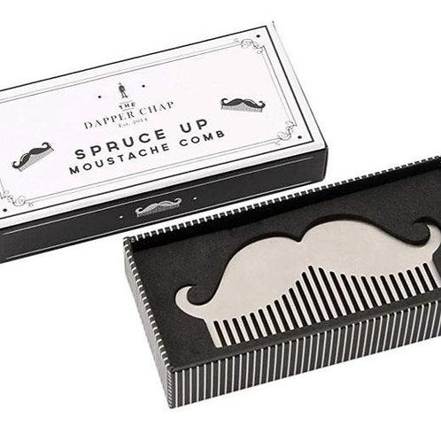 Dapper Chap Moustache Comb