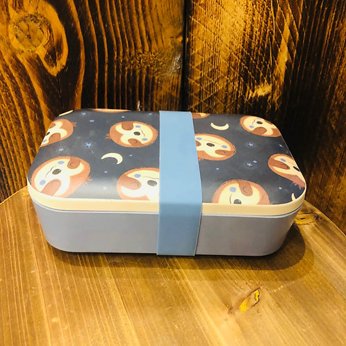 Sloth Bamboo Lunchbox