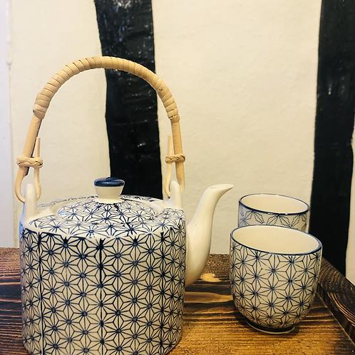 Sashiko Pattern Teapot