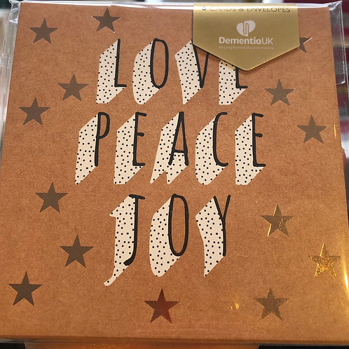 Charity Christmas Card Pack of 6