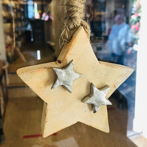 Wooden Star Hanger