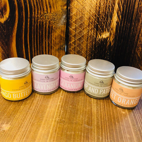 Cosy Cottage Hand and Body Creams
