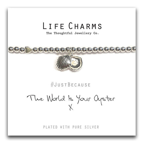 The World Is Your Oyster Bracelet
