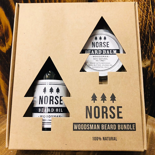Norse Woodsman Beard Bundle
