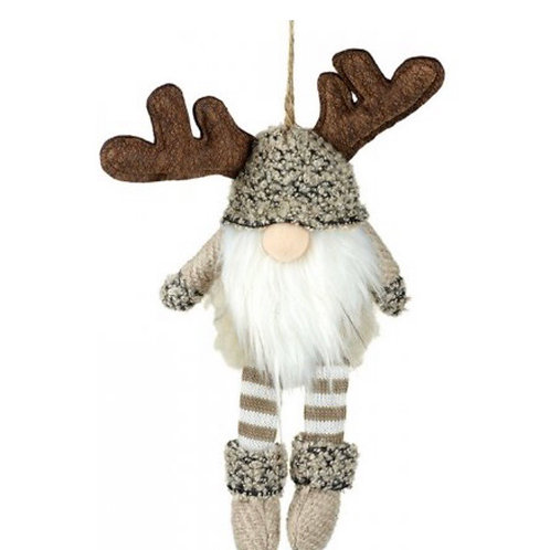 Hanging Gonk with Antlers