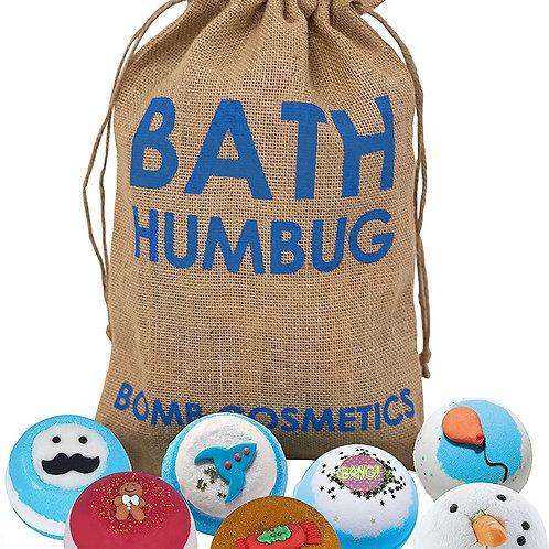 Bomb Cosmetics Bath Humbug Bath Bomb Set