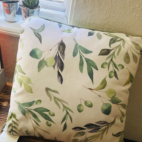 Olive Branch Cushion