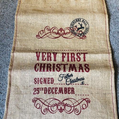 First Christmas Sack