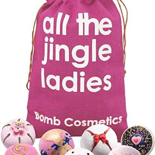 Bomb Cosmetic All the Jingle Ladies Bath Bomb set