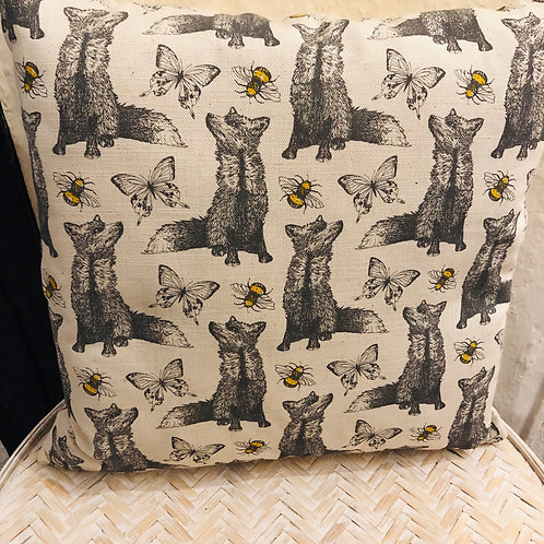 Gillian Kyle Fox Cushion