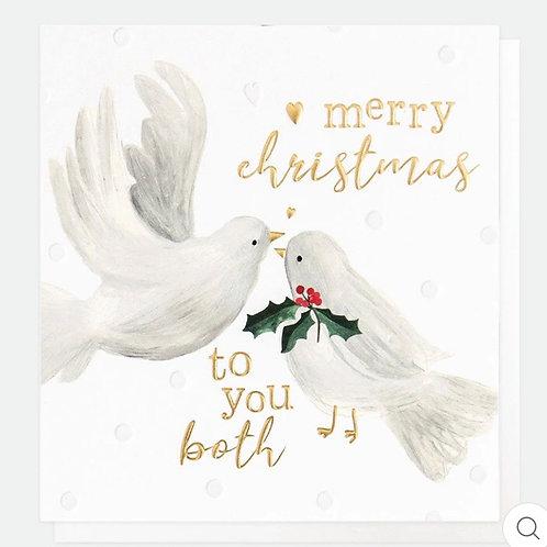 To You Both Christmas Card
