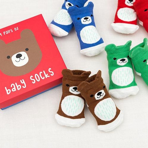 Bear Baby Socks