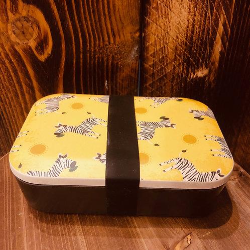 Zebra Bamboo Lunchbox