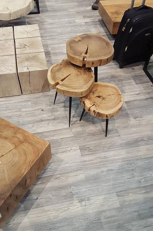 Tris tavolini industriale