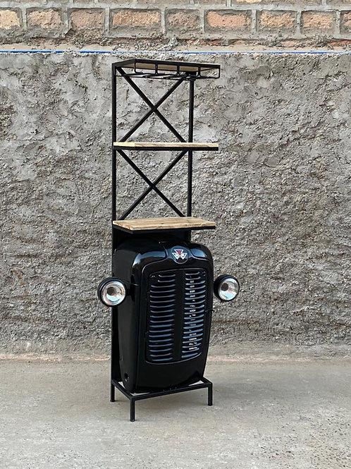 Mobile bar trattore gray