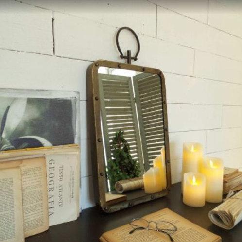 Specchio industriale design vintage