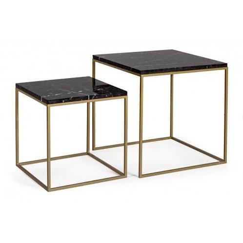 Set 2 tavolini salotto design