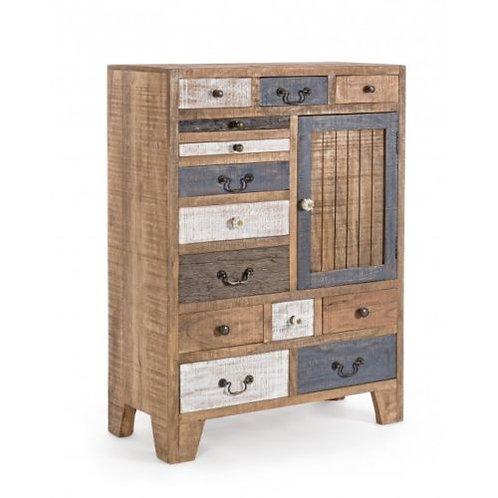 Cassettiera design legno mm