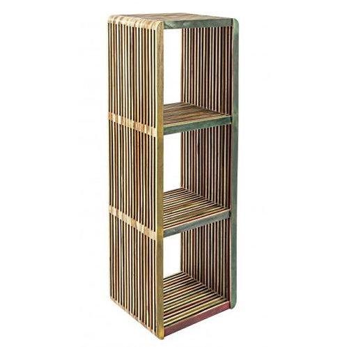 Libreria design etnico 3 scomparti