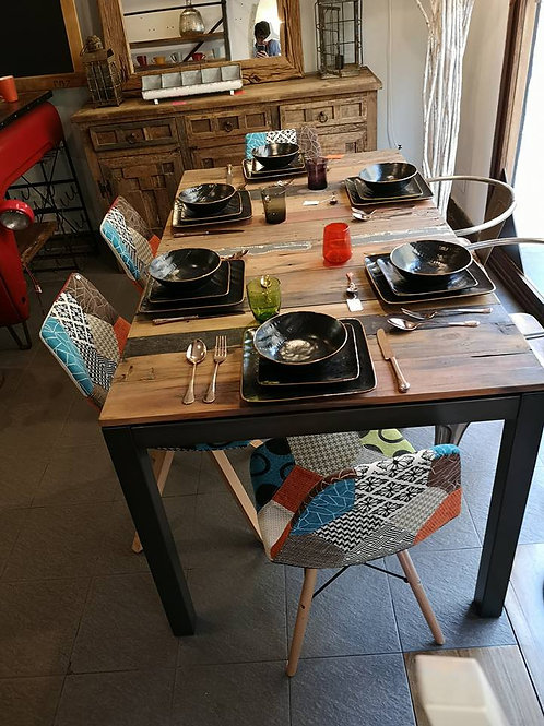 Tavolo industriale vintage