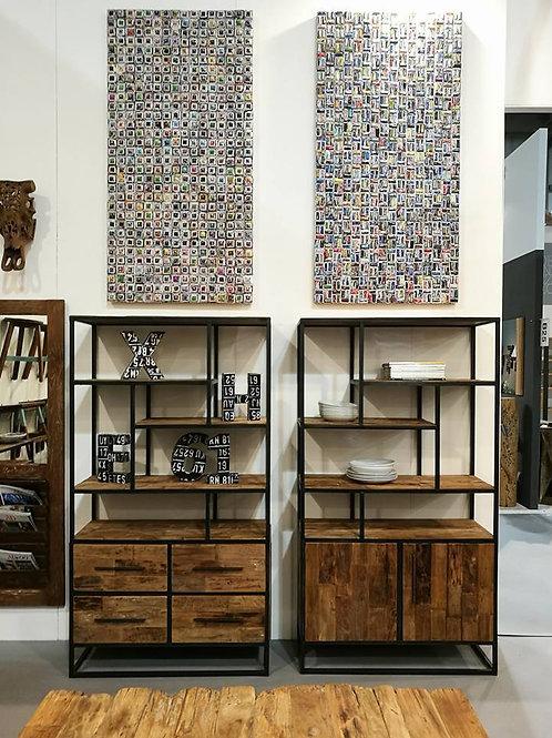 Libreria design modello industrial