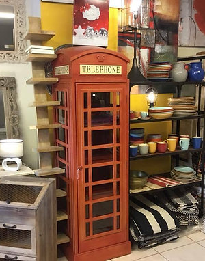 Libreria cabina london vintage