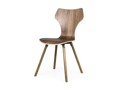 Set 4 sedie legno anni 60