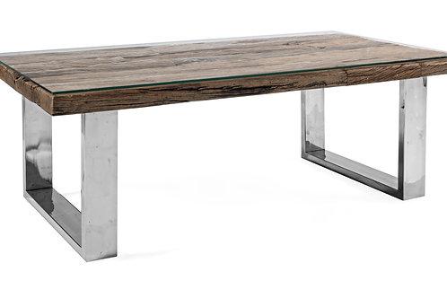 Tavolino salotto rail glass