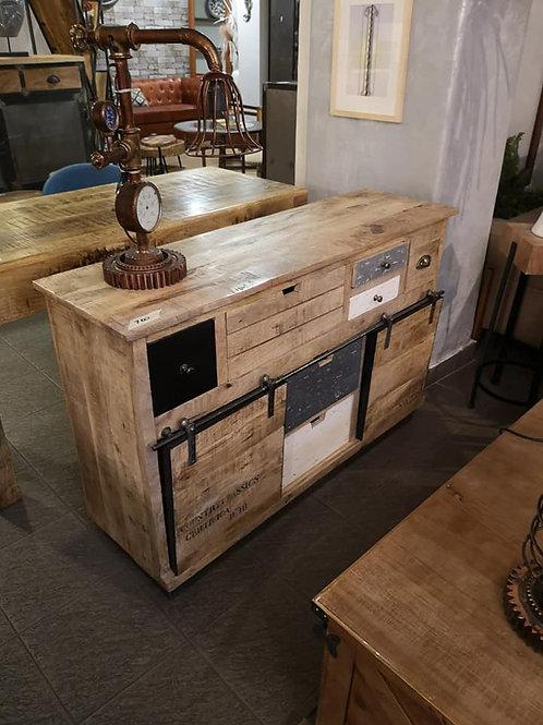 Madia credenza design vintage industriale