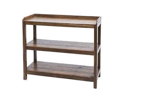 Libreria vintage industriale ferro legno