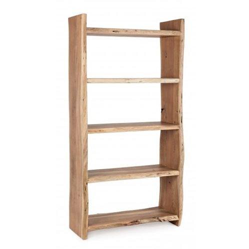 Libreria design etnico legno