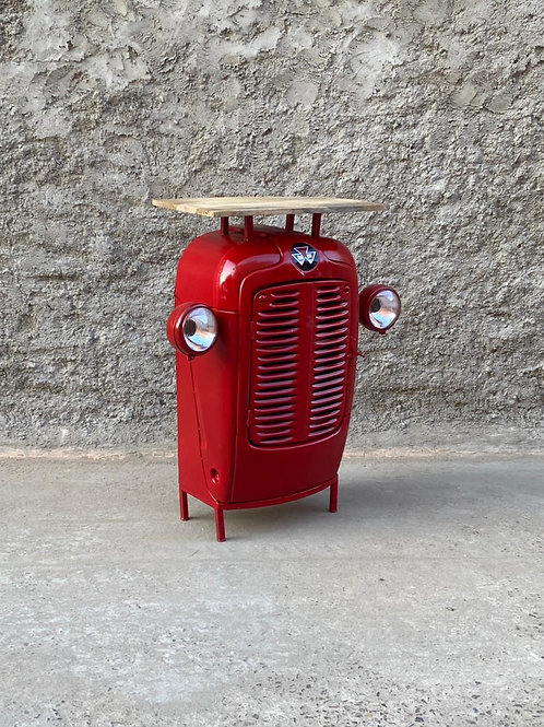 Mobile bar Trattore red
