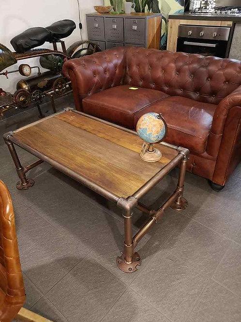 tavolino da salotto industriale