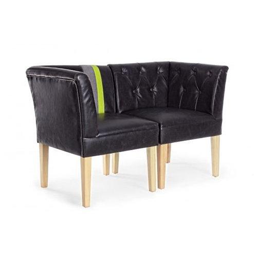 set 2 poltrone divano design