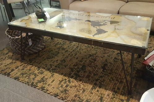 Tavolino salotto industriale